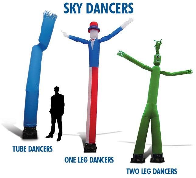 AD24 BENAO BENAO Заказная одна нога небесная трубка реклама надувная воздушная Танцовщица для рекламы