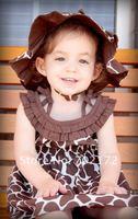 КПП кор детское платье Интернет Wi-шляпа й 4 шт./лот