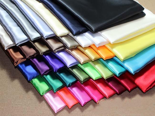 """[IuBuFiGo] 5""""(1,5 м) Ширина шелковой атласной ткани свадебные атласные 5 м/лот#31 цвет"""
