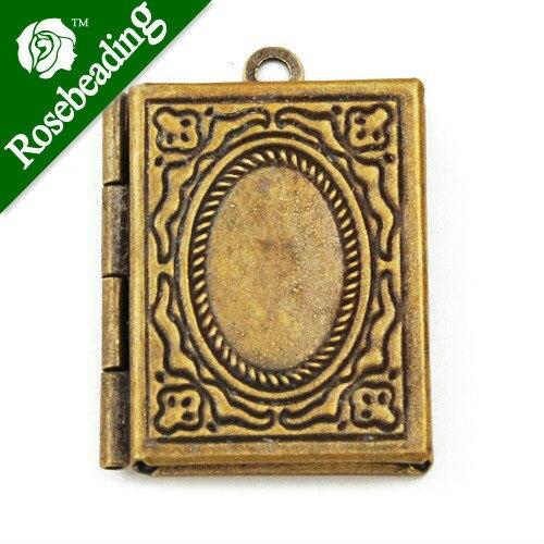 2419 mm antique brass book lockets pendant victorian stylebrass 2419 mm antique brass book lockets pendant victorian stylebrass lockets antique aloadofball Choice Image
