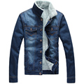 Men Collar quality fashion Jeans men JacketsClassic fashion Denim Jacket men Casual Single Breasted Jeans Jacket