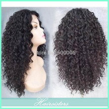Full Lace Wig With Baby Hair Around Brazilian Virgin Human Hair Curly Glue Full Lace Wig