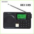 1 unid Degen DE1129 FM MW SW 4 GB Portátil Multifuncional LED Inteligente Estéreo Radio DSP Receptor MP3 3 Banda A0909A