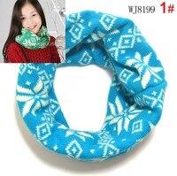 бесплатная доставка! 1 шт. в розницу новый осенне-летний снег рождественский теплая зима шарф кольцо