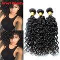 7A Unprocessed Malaysian Virgin Hair Natural Wave Weave Malaysian  Natural Wave Human Hair Extensions 3 Bundles100g Crochet Hair