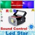 LedStar Освещение Новый 20 Вт Компактный DJ Strobe Light Белый Цвет Мощный Диско Стробоскопический Эффект Освещения для Партии Семьи Disco DJ