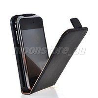 Casa чехол, кора кожа перевёрнутый сумка чехол для яблоко iPhone 3 г и 3GS