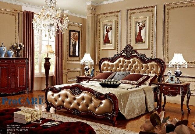 Regno Unito stile di lusso solido legno di rosa mobili Camera Da ...