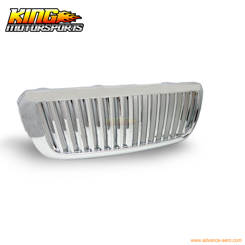 For 2004-2005 Ford Ranger VERTICAL Hood Grill Grille Brand New - Chrome USA Domestic Free Shipping Hot Selling for 2004 2008 ford f150 chrome vertical front hood grill grille usa domestic free shipping hot selling