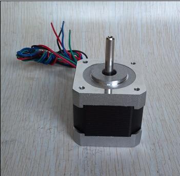 цена на 10pcs Nema 17 stepper motor 42BYGHW811 0.48N.m 2.5A for 3D printer and Engraving Machine