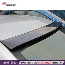 Высокое качество углеродного волокна спойлер на крыше для bmw 2005-2011 3 3-й серии e90 4 дверный седан 318i 320i 323i 325i 328i 330i автомобиля укладки