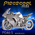 ICONX 2017 Piececool 3D Metal Puzzle Toy, P046S P057S  Motorcycle Building Kits DIY 3D Puzzle Cut Models Jigsaw Toys For Adult