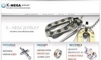 нержавеющая сталь серебро супермен мужская ожерелье 10018659