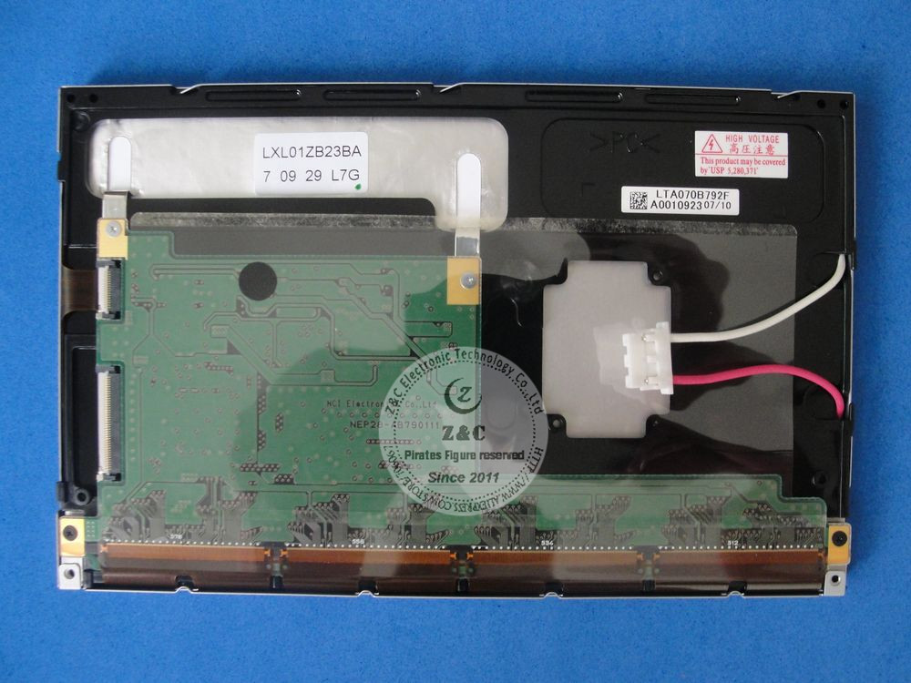 """LTA070B790F LTA070B792F EDTCB23QAF 7,"""" дюймовый ЖК-дисплей Экран дисплея для автомобиля gps навигации"""