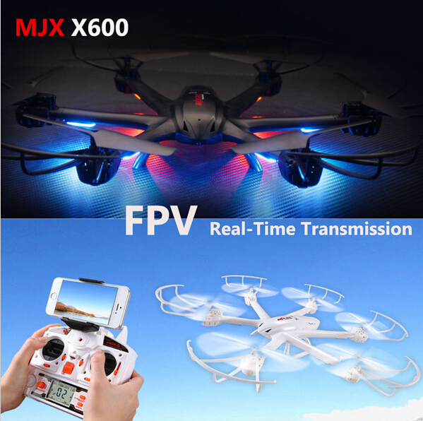 MJX X600 2.4G 6 Axis with camera FPV Real time transimission function FPV wifi Helicopter RTF rc drone vs walkera tali h500 X400