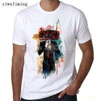 Yiwuliming Wholesale White Radiohead T Shirt Designer Tshirts For Men Top Brand Custom DIY Shirts Men