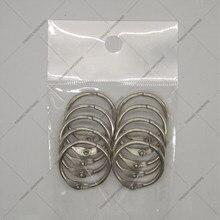 AliExpress по выгодной цене и никелевое покрытие кольцо для календаря подвесное кольцо открытка кольцо для переплета 10 шт./упак.-хомут с круглым воротником для мальчиков и девочек