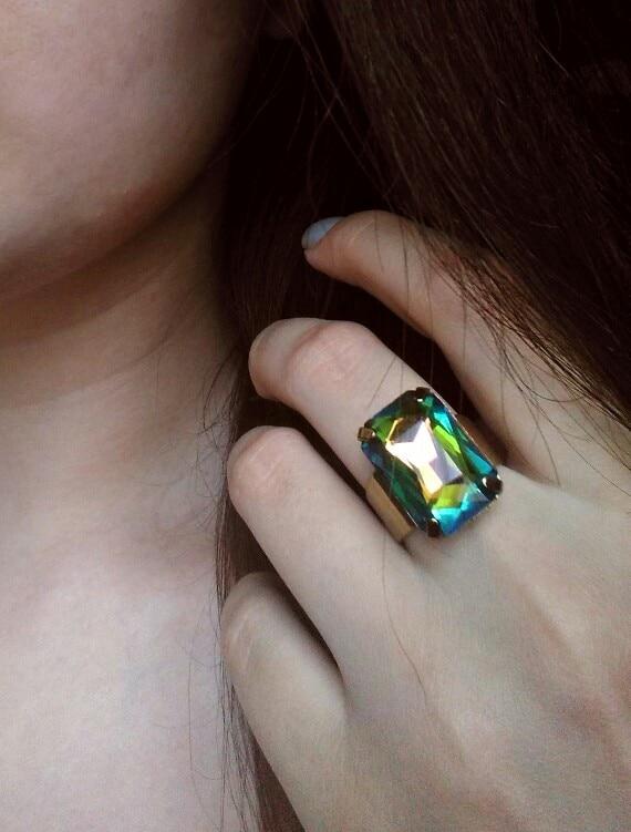 Шикарное кольцо от eManco за 115 рублей с Алиэкспресс