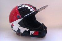 хиты продаж! новый стиль, стекловолокна оболочки полный гонки на мотоциклах крест - яркий шлем страна