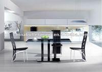 РО дом мебель из стекла Baden стол