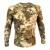 Highlander Kryptek Camo camisa De manga Longa Tático Respirável camisa do Verão T-shirt Do Exército de compressão apertado