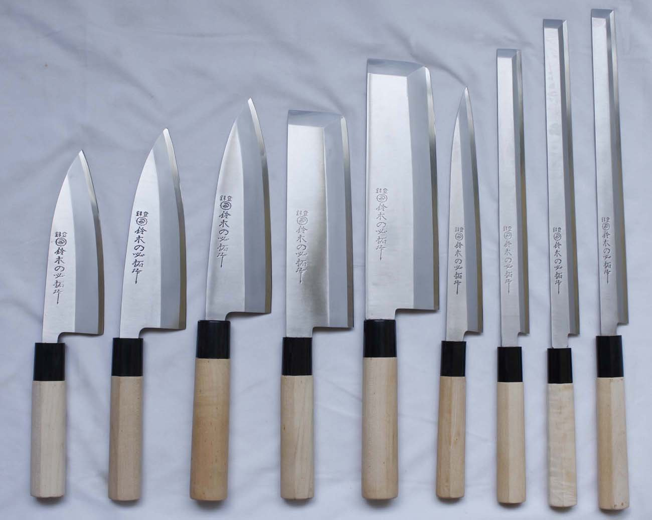 Cutlery Japanese 83 Kitchen Nakiri Usuba Knife In