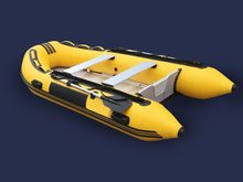 GTS330 Professional Inflatable PVC Rubber Boat for Fishing Kayak 5 Person Inflatable Fishing boat(China)