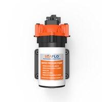 משאבות מים באיכות גבוהה dc 12 V SEAFLO 1.5 GPM 80PSI משאבה ימית RV לקרוון יאכטות