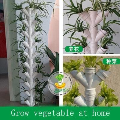 nuevo diseo cielo jardn diy cultivar hortalizas en casa o sistema de cultivo hidropnico balcn sin
