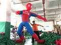 Free Shipping 3m giant  inflatable spider man cartoon for advertising