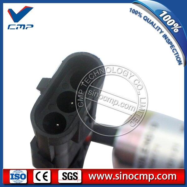 Excavator fuel shutdown solenoid valve 3934171 for cummins