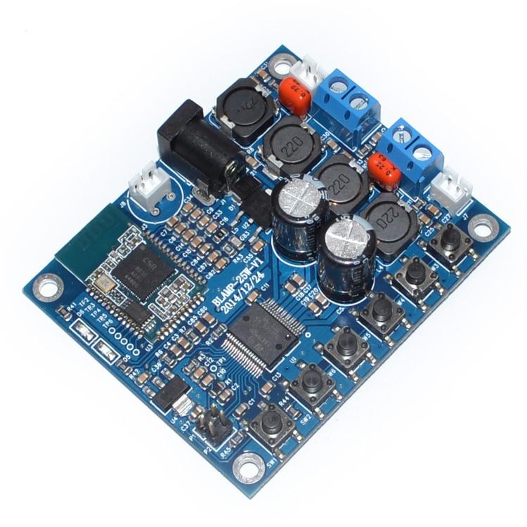 <font><b>Bluetooth</b></font> 4.0 аудио приемник питания цифровой HIFI стерео усилитель Совет <font><b>TDA7492</b></font> 25 Вт + 25 Вт 12 В Бесплатная доставка 10000791
