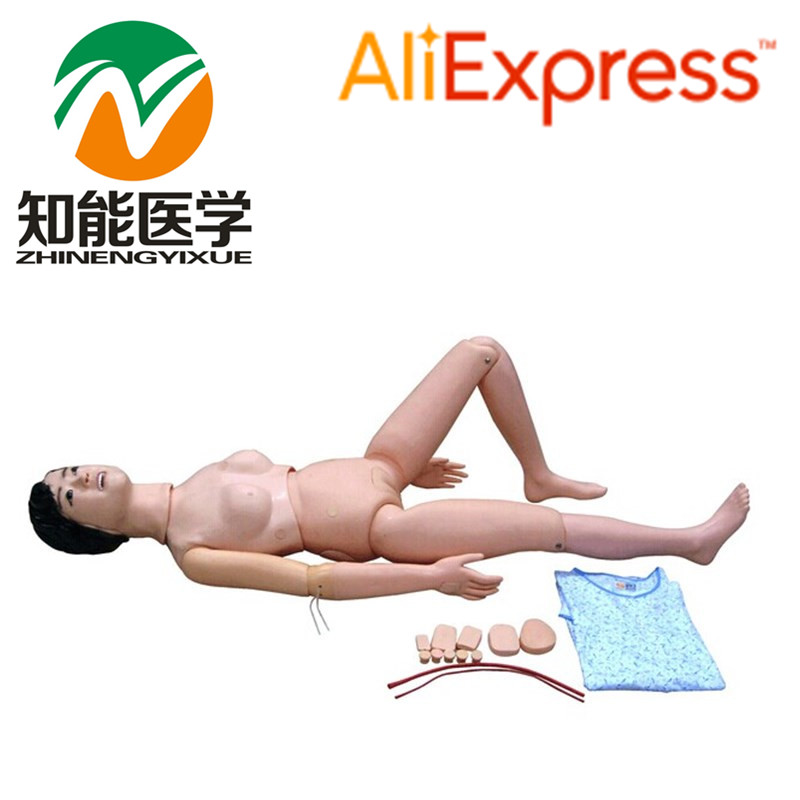 BIX-H1 New Type Of Female Advanced Multifunction Nursing Training Manikin For Internship WBW110 bix h2400 advanced full function nursing training manikin with blood pressure measure w194