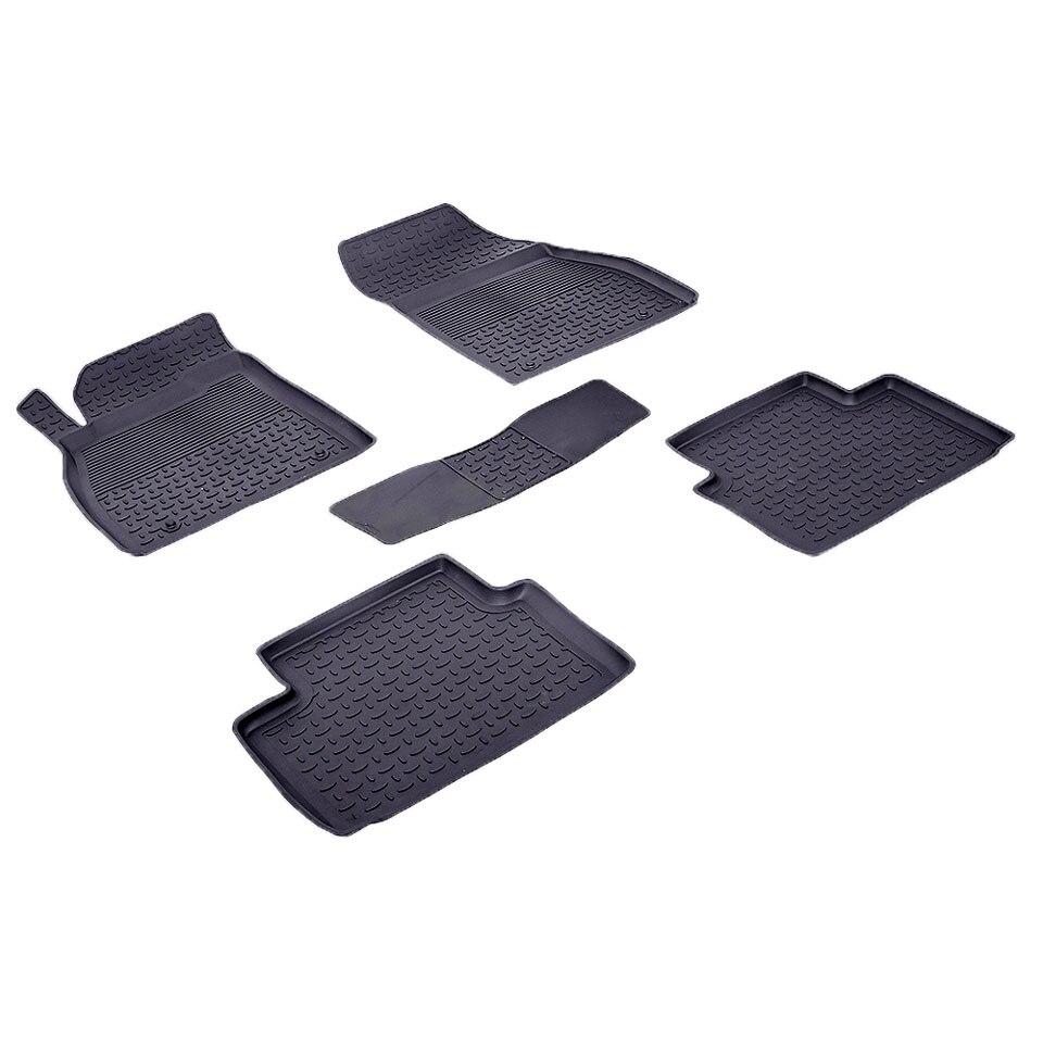 Rubber floor mats for Chevrolet Malibu 2011 2012 2013 2014 2015 2016 Seintex 83334