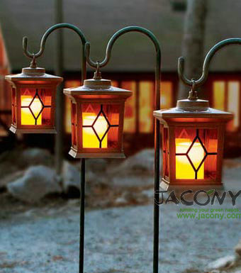 Hanging Solar Garden Lantern+Metal Holder+100% Solar Powered Green Energy+1  Yellow LED+Free Shipping In Candle Holders From Home U0026 Garden On  Aliexpress.com ...