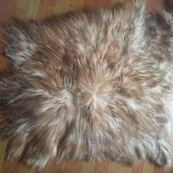 Fashion Long Hair Tibet Lamb Plate Fur Goat Fur Kidassia Fur Plate