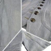 горячих женщин старинные СМЛ шею кардиган топы джинс короткая джинсовая куртка бесплатная доставка