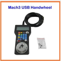Free Ship CNC Router Mach3 USB Handwheel 4 Axis Pulse 50 PPR Optical Encoder Generator MPG
