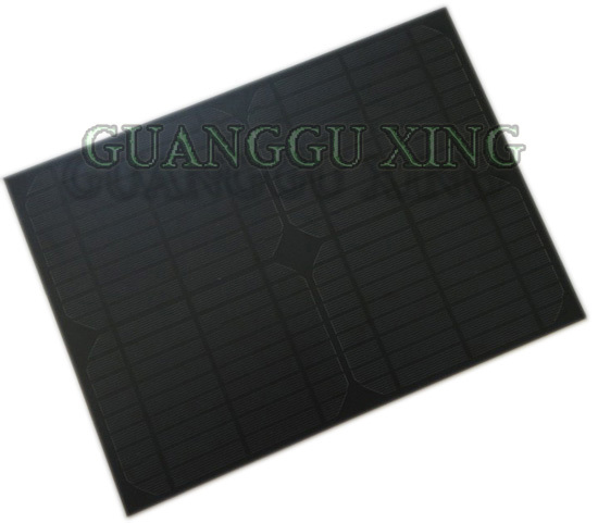 10W18V frosted solar panel