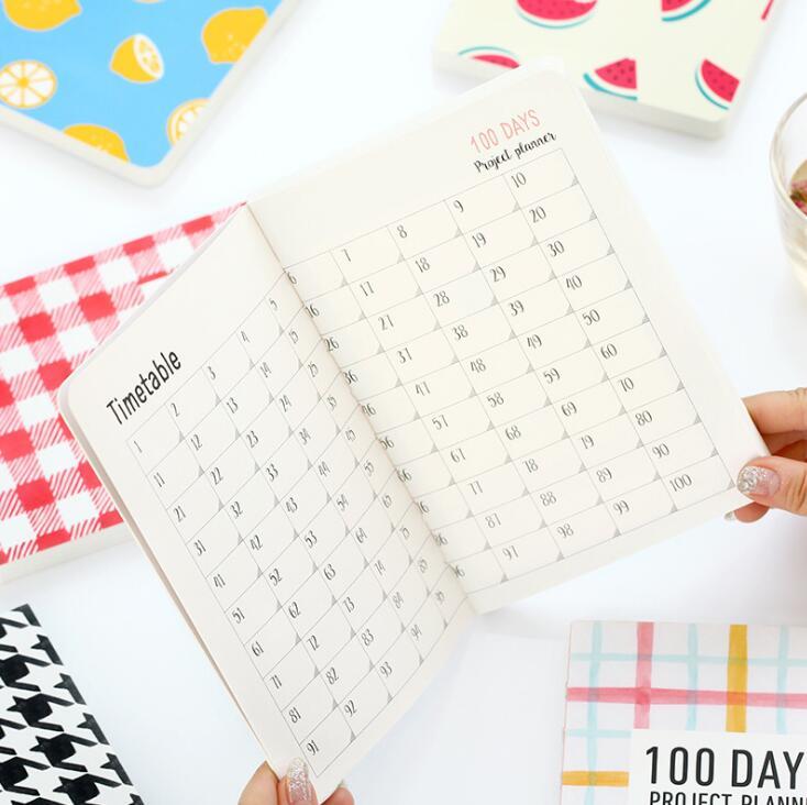 Aliexpress.com : Buy Lovely Korean fashion agenda 100 DAYS PROJECT ...