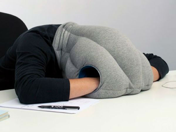 Free Shipping Ostrich Pillow For Travel Sleeping Nap Pillow Desk