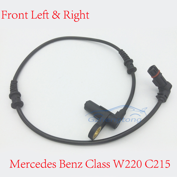 1 pcs Front Left and Right ABS Wheel Speed Sensor for Mercedes Benz Class W220 C215 OEM 220 540 01 17 220 540 02 17