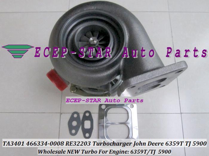 TA3401 466334 466334-0008 RE32203 Turbo turine turbocharger Fit For John Deere 6359T TJ 5900 (5).JPG