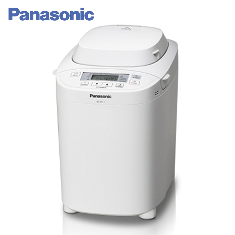Panasonic SD-2511WTS Breadmaker breakfast bread machine,14 functions, Household automatic intelligent multifunctional bread dl t06a 220v 50hz fully automatic multifunctional bread machine intelligent and face yogurt cake machine 450g 700g capacity 450w