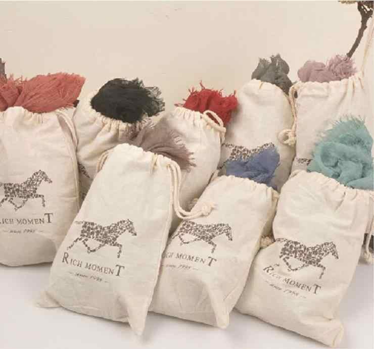 130*190 cm 2016 di Modo di Marca 17 colori Cavallo Morbido Cotone e Misto Lino Solid Inverno Sciarpa Donne Warm nappa Scialli Sciarpe Sciarpe
