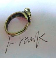бесплатная доставка 60 шт./лот staring серебро старая бронза цвет asean ретро стиль видел мышь кольца без № 0049