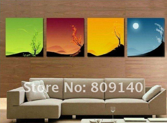 Oil Painting Canvas Scenery Landscape Beautiful Decoration High Quality  Hand Painted Home Office Hotel Wall Art Decor No Frame In Painting U0026  Calligraphy ...