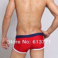 мужчины в купальный костюм сексуальный мужские спорт боксер шорты уздечки плавание стволы