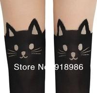 новинка 2017 года дизайн мода 60 den секс Colt черный татуировки товары для кошек Colt для новорождённых для для женщин