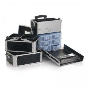 Guaranteed 100 Aluminum Trolley Case Make Up Tc004 Whole And